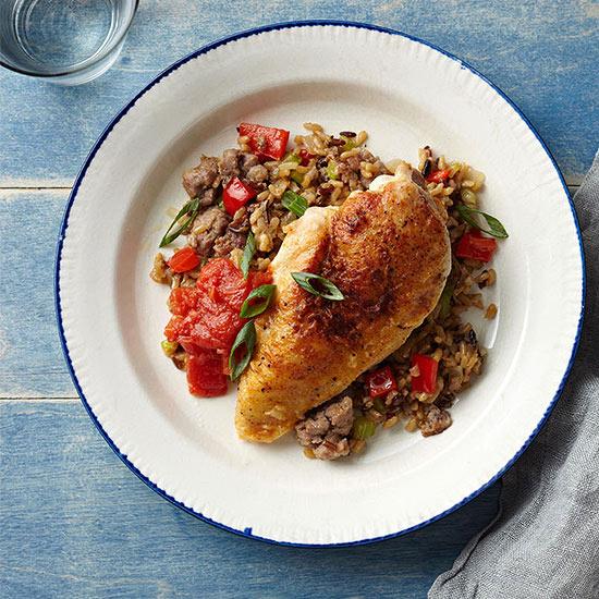 Chicken-Fried Chicken and Tomato Gravy