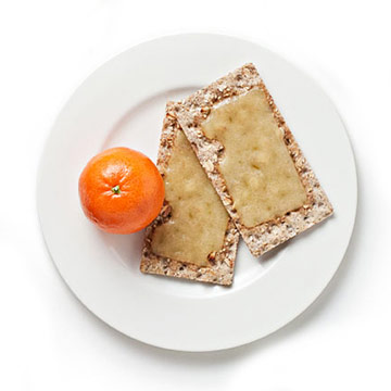 Melted Cheese & Crackers
