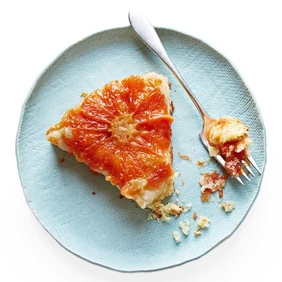 Grapefruit Upside-Down Cake