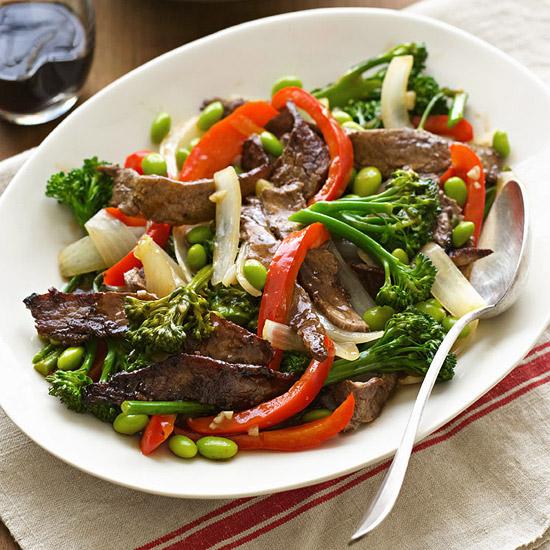 Beef & Broccolini Stir-Fry