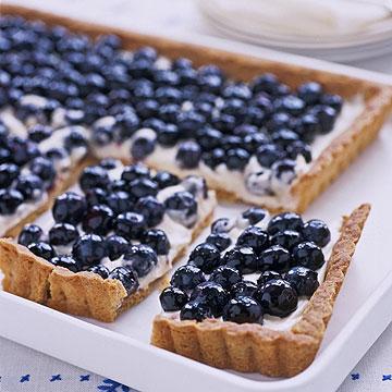 Lemon-Blueberry Cookie Tart