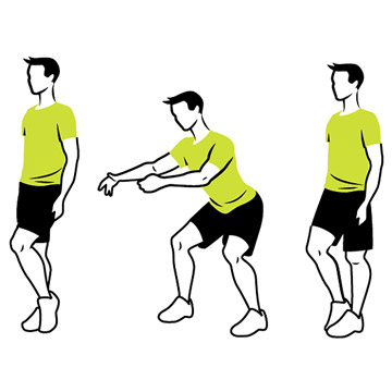 Side-Stepping Squats