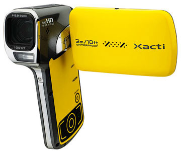 Camera Xacti, model VPC-CA102YL