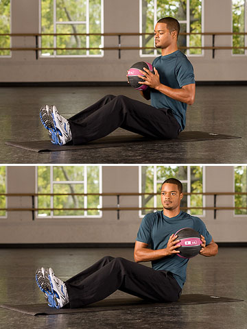 4 Easy Medicine Ball Exercises