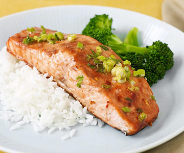 Spicy Hoisin Salmon
