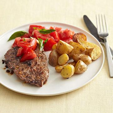 Peppery Cube Steak