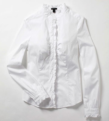 More Great Shirts: The White Ruffles