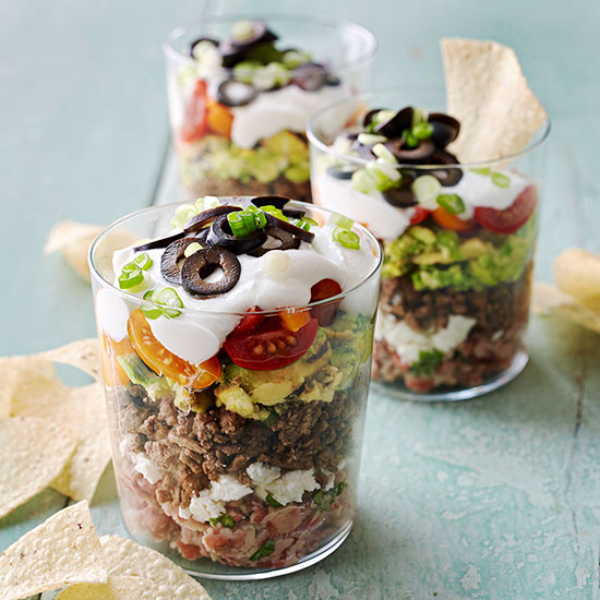 Grilled Seven-Layer Dip