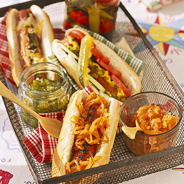 New York-Style Hot Dogs