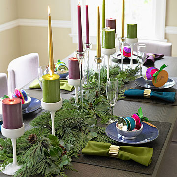 Festival of Brights: Jewel-Tone Christmas Decorations