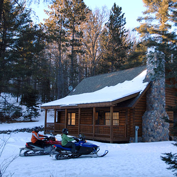 Snowmobiling Hot Spot: Eagle River, WI