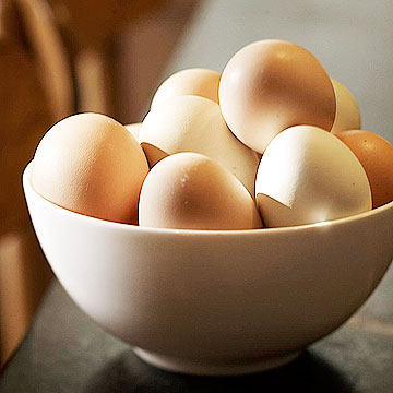 Instead of: Plain eggs