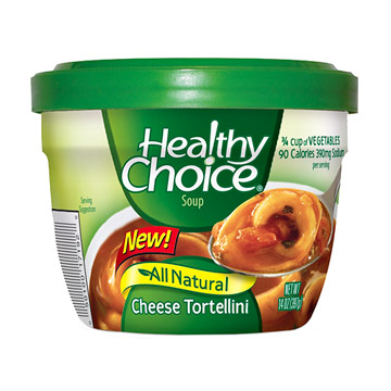 Healthy Choice Cheese Tortellini Soup