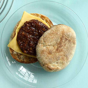 Sausage and Cheese English Muffin
