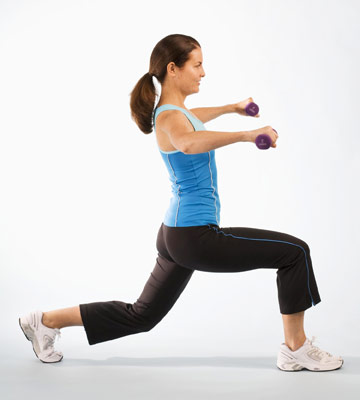 Lunging Shoulder Lift Action