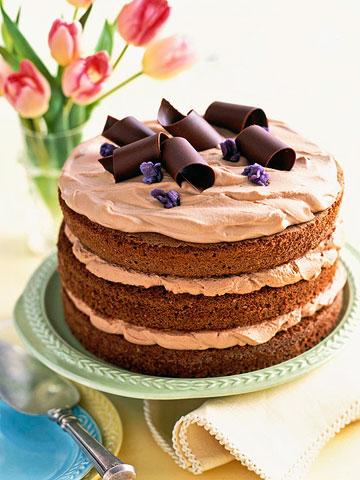 3-Tier Feather-Light Chocolate Cake