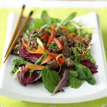 Thai Ground Beef Salad