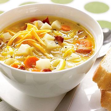 Leek, Bacon & Potato Soup