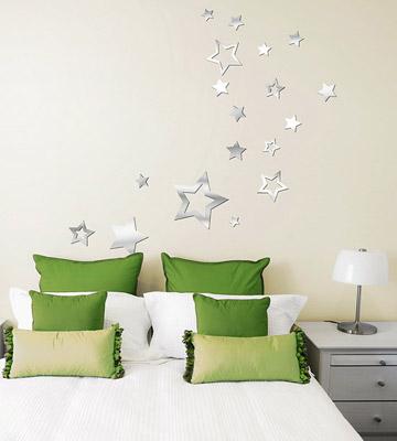 Lot-26_Acrylic-Mirror-Star-Decals_On-Wall.jpg