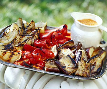 Vegetables with Romesco Sauce
