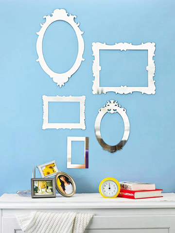 Umbra Frama Mirrored Wall Decor Appliques