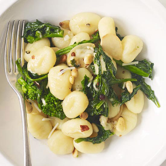 Gnocchi with Pine Nuts & Broccoli Rabe