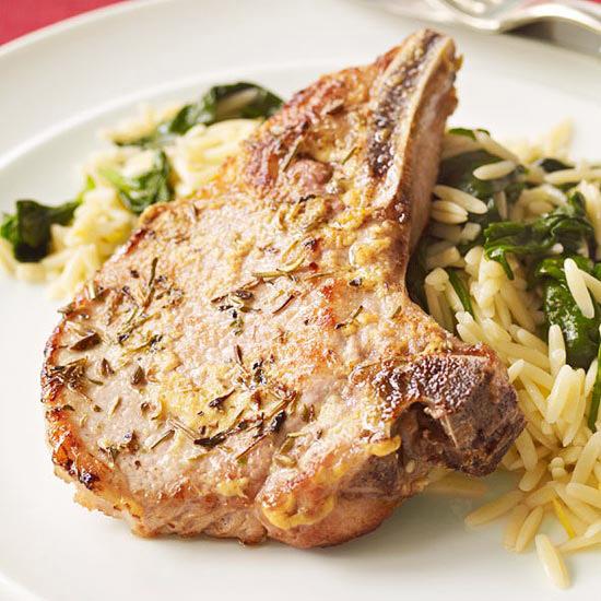Provençal Pork Chops
