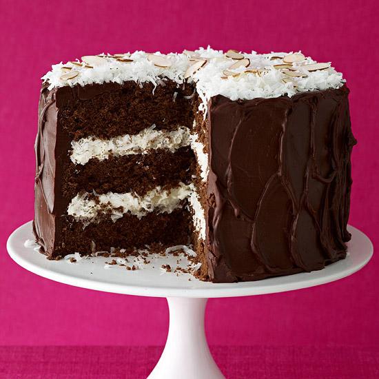 Cocoa-Almond-Coco Cake