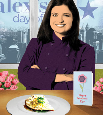 Food Network Chef Alex Guarnaschelli's Herbed Omelet