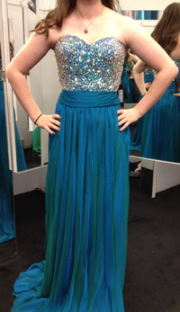 We Found the Perfect Prom Dress!