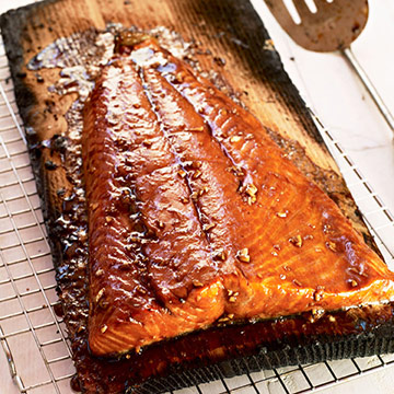 Pacific Rim Cedar Plank Salmon