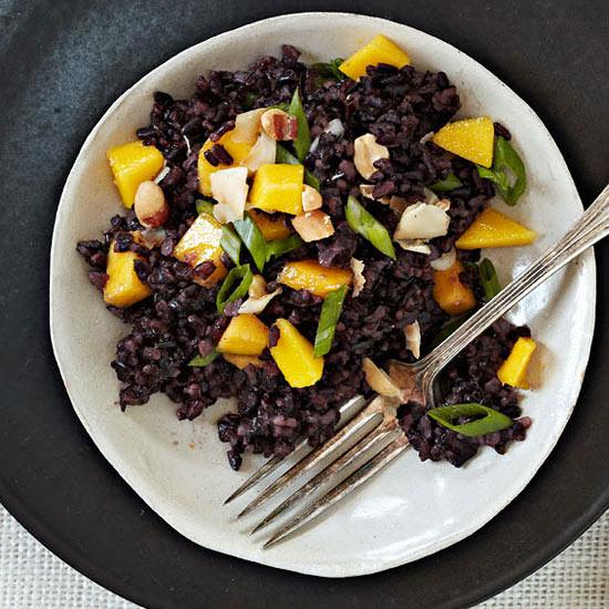 Black-as-Night Rice Salad