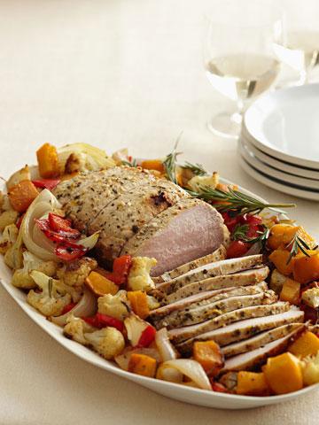 Harvest Pork Roast & Vegetables