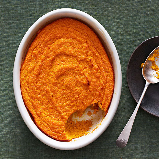 Curried Carrot Souffle