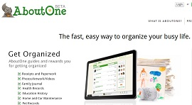 AboutOne.com Will Help You Get Organized