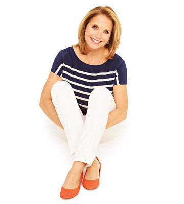 Celebrity Q+A: Katie Couric