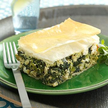 Spinach and Chicken Pie