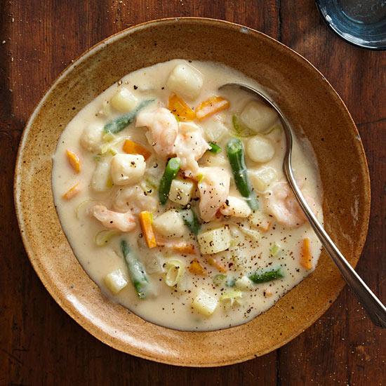 Seafood Veggie Chowder