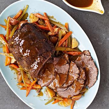 Slow-Cooker Pot Roast, 5 Ways