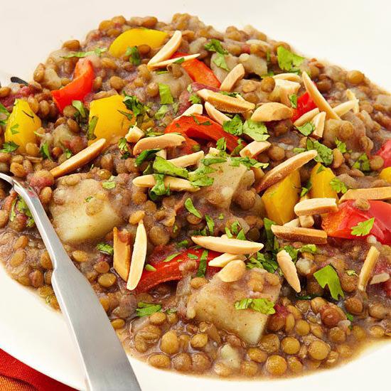 Garam Masala Lentils & Potatoes
