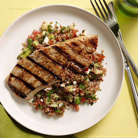 Turkey and Tabbouleh