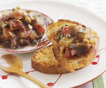 Slow-Cooker Eggplant Caponata