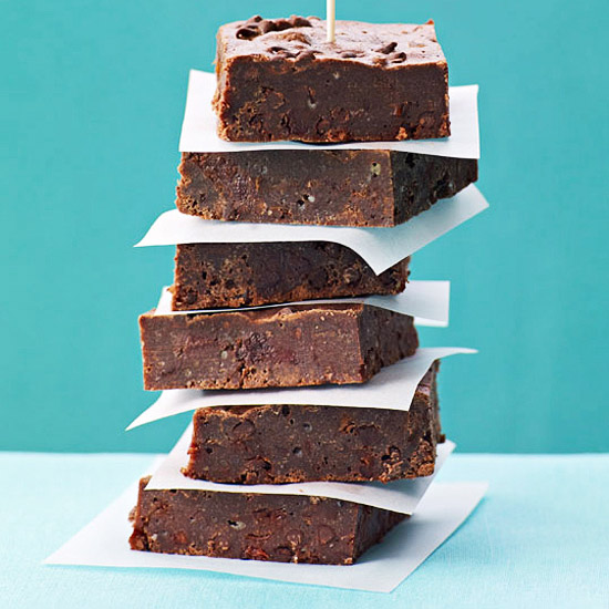 Chocolate-Cherry Fudge Brownies
