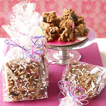 Choco-Cherry Crispy Treats