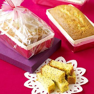 Lemon Poppy Seed Pound Cake Loaves