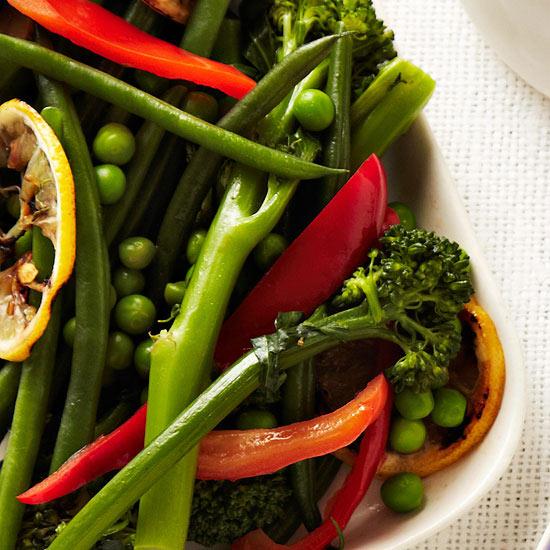 Spring Vegetable Saute