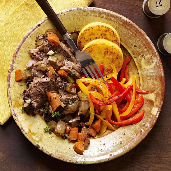 Slow-Cooker Balsamic Pot Roast