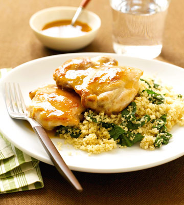 Apple Chicken and Couscous