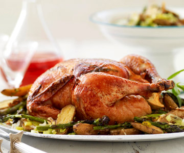 Roast Chicken and Veggies