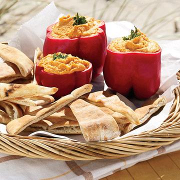 Roasted-Pepper Hummus
